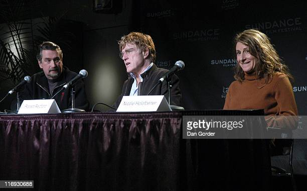 Geoffrey Gilmore Robert Redford and Nicole Holofcener