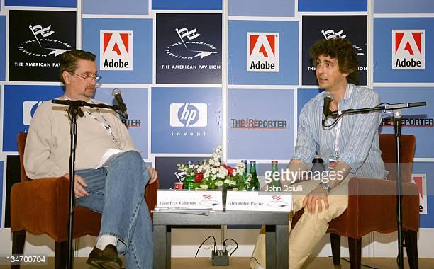 Geoffrey Gilmore Sundance Film Festival Director and Alexander Payne