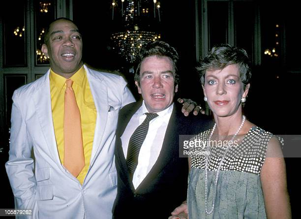 "Geoffrey Holder, Albert Finney and Carol Burnett during ""Annie"" Press Conference - May 13, 1982 at St. Regis Hotel in New York City, New York, United..."