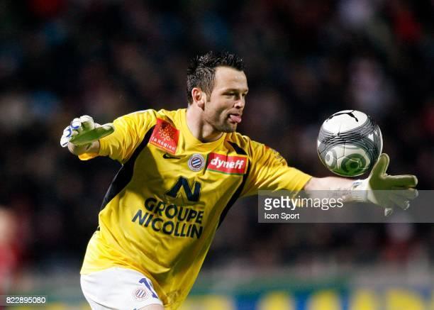 Geoffrey JOURDREN Lille / Montpellier 30e journee Ligue 1 Stadium Nord Villeneuve d'Ascq
