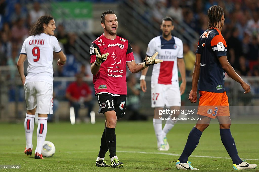 Football - French Ligue 1 - Montpellier HSC v Paris Saint Germain : News Photo