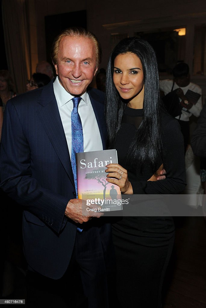 Geoffrey Kent and Ottavia Kent attend Geoffrey Kent's book launch celebrating: 'Safari: A Memoir Of A Worldwide Travel Pioneer' on October 14, 2015 in New York City.
