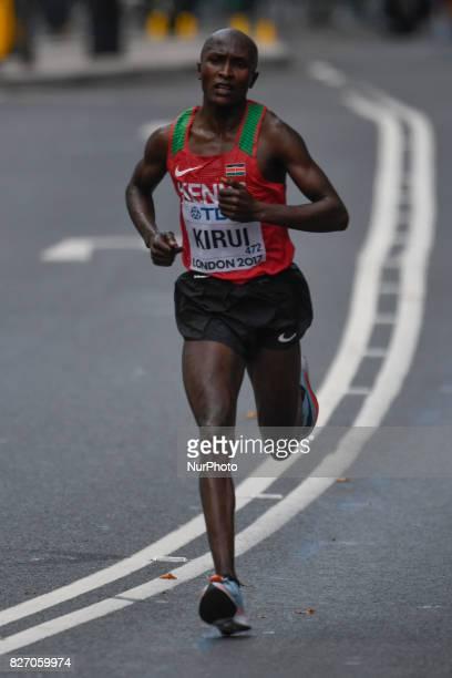 Geoffrey KipkorirKIRUI Kenya during marathon in London on August 6 2017 at the 2017 IAAF World Championships athletics