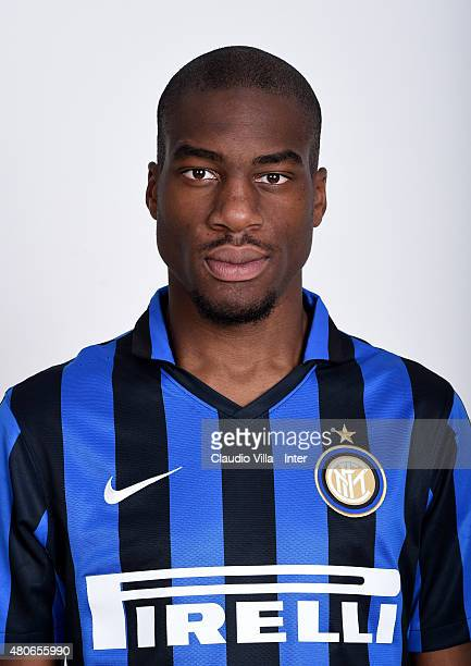 Geoffrey Kondogbia of FC Internazionale poses for his Serie A 20152016 season official headshot at Riscone di Brunico on July 14 2015 in Bruneck Italy