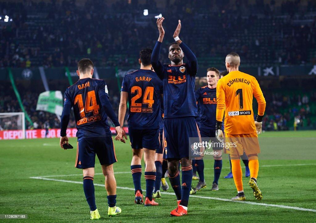 Real Betis Balompie v Valencia - Copa del Rey Semi Final : News Photo