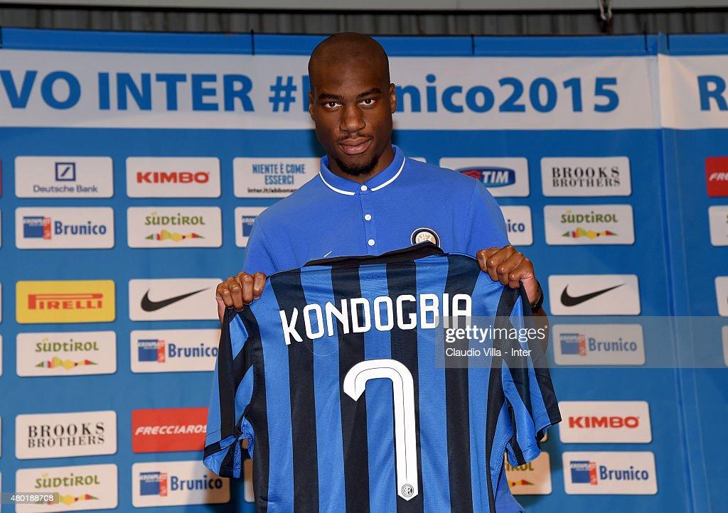 FC Internazionale Unveils New Signing Geoffrey Kondogbia