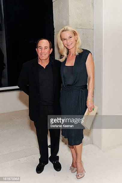 Geoffrey Palmer and Anne Palmer attend Eva Chow And Elvis Mitchell Host Special Reception For LACMA's Upcoming Art Film Gala Presented By Gucci at a...