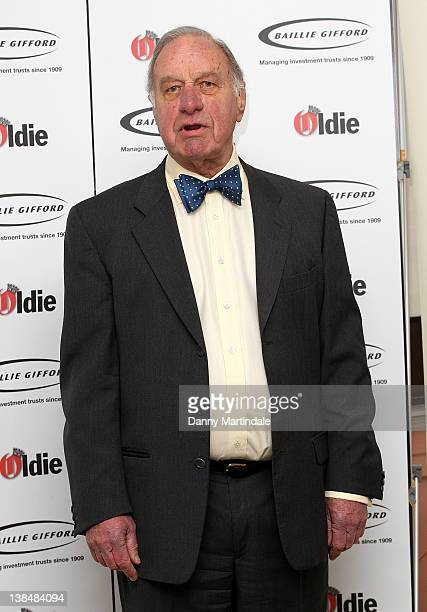 Geoffrey Palmer attends the 2012 Oldie of the Year Awards at Simpsons in the Strand on February 7 2012 in London England
