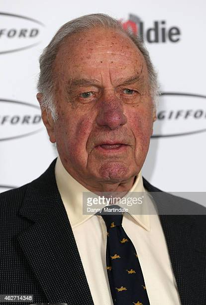 Geoffrey Palmer attends the Oldie Of The Year Awards at Simpsons in the Strand on February 3 2015 in London England