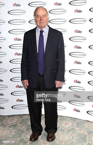Geoffrey Palmer attends the Oldie of the Year awards at Simpsons in the Strand on February 4 2014 in London England