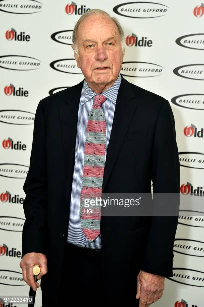 Geoffrey Palmer attends the 'Oldie Of The Year Awards' held at Simpsons in the Strand on January 30 2018 in London England