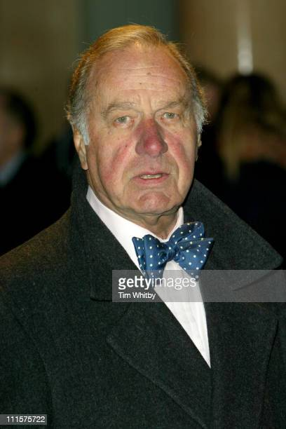 Geoffrey Palmer during Mrs Henderson Presents London Premiere at Vue West End in London Great Britain
