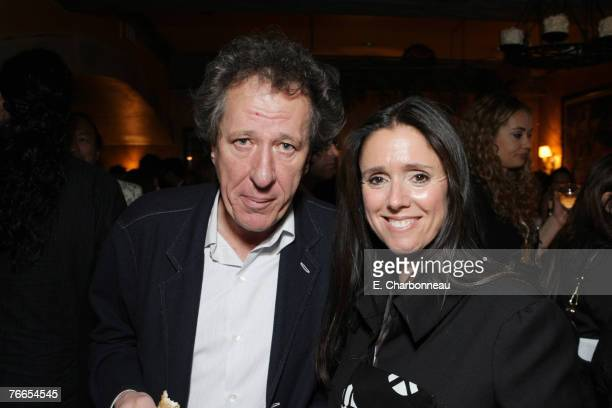 Geoffrey Rush and Director Julie Taymor at the Gala Screening of Sony Pictures Across The Universe during the 2007 Toronto International Film...