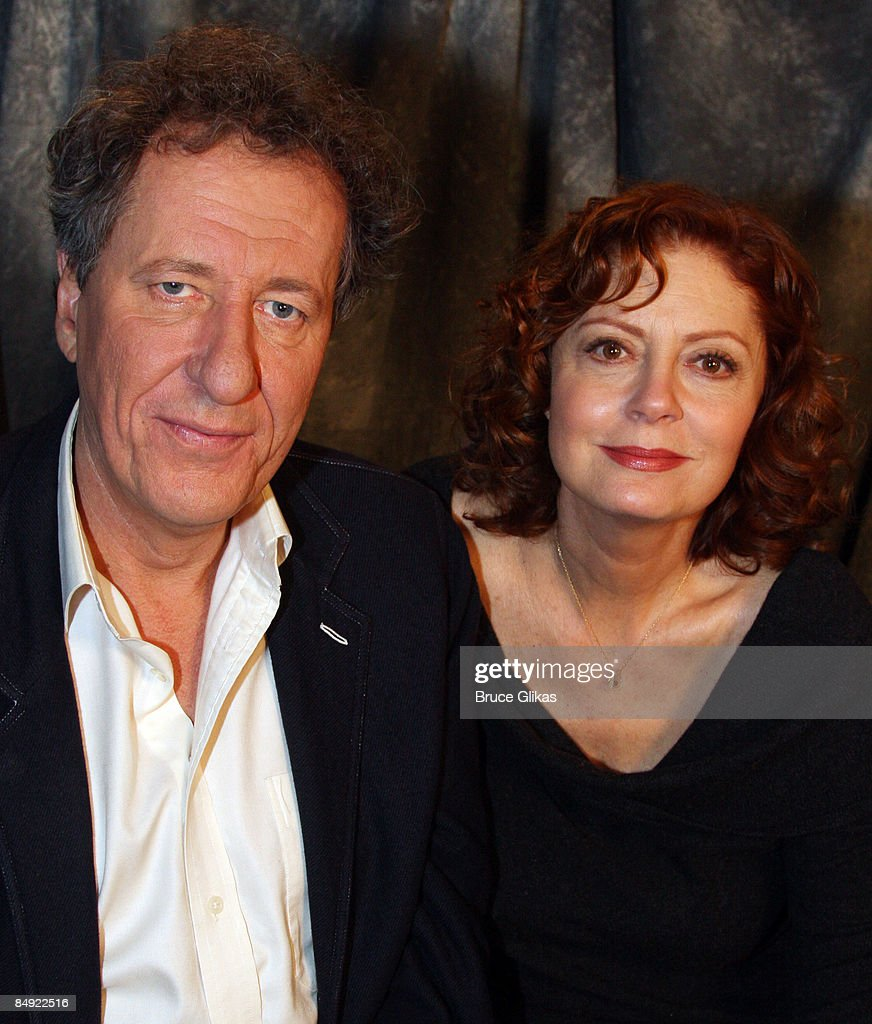 Geoffrey Rush And Susan Sarandon Attend A Meet And Greet For Exit