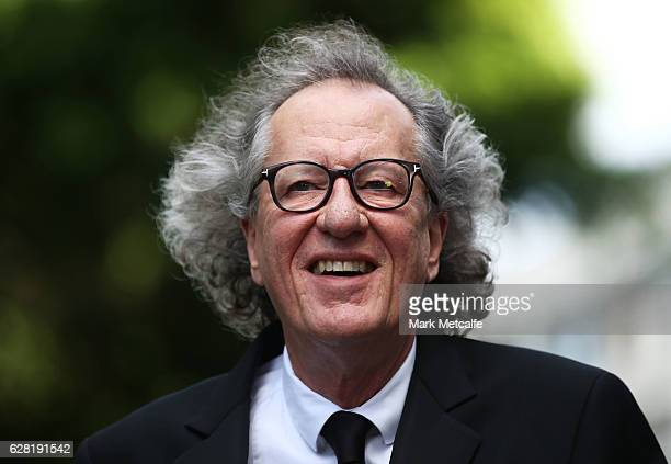 Geoffrey Rush arrives ahead of the 6th AACTA Awards Presented by Foxtel at The Star on December 7 2016 in Sydney Australia