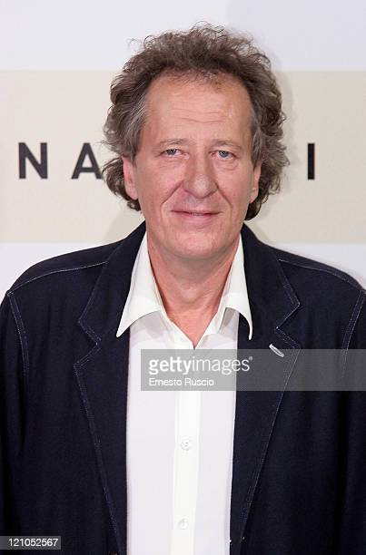 Geoffrey Rush at photocall of 'Elizabett the golden age' in Auditorium of Rome for RomeCinemaFest 2nd edition on October 19 2007
