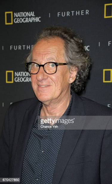 Geoffrey Rush attends National Geographic FURTHER FRONT at Jazz at Lincoln Center's Frederick P Rose Hall on April 19 2017 in New York City