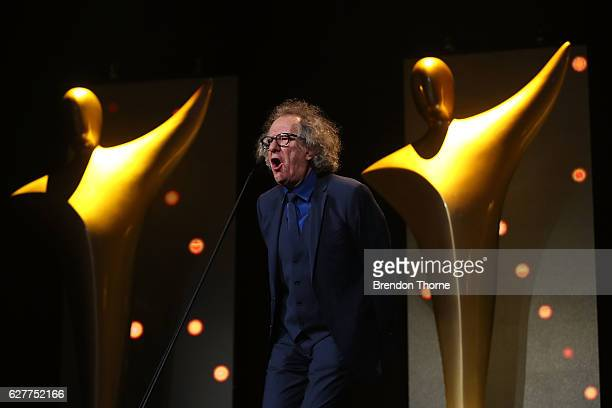 Geoffrey Rush attends the 6th AACTA Awards Presented by Foxtel | Industry Dinner Presented by Blue Post at The Star on December 5 2016 in Sydney...