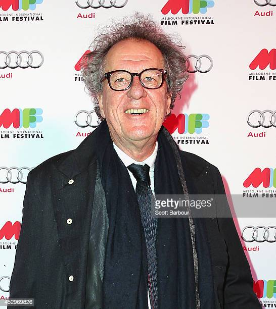 Geoffrey Rush attends the opening night of the 63rd Melbourne International Film Festival at Hamer Hall on July 31 2014 in Melbourne Australia