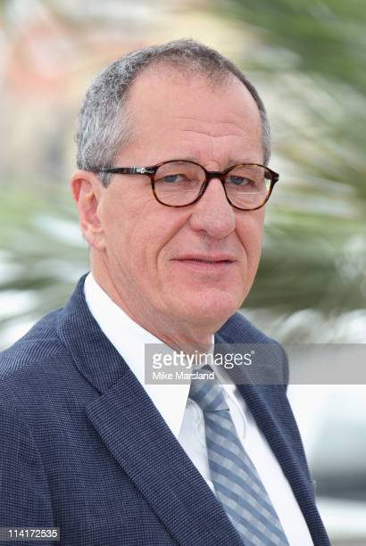 Geoffrey Rush attends the 'Pirates of the Caribbean On Stranger Tides' photocall at the Palais des Festivals during the 64th Cannes Film Festival on...