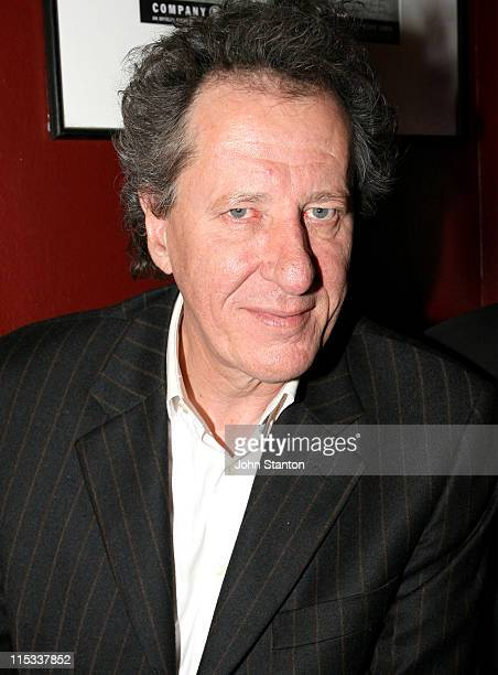 Geoffrey Rush during Opening Night of Exit The King Starring Geoffrey Rush in Sydney on June 132007 at Belvoir St Theatre in Sydney NSW Australia