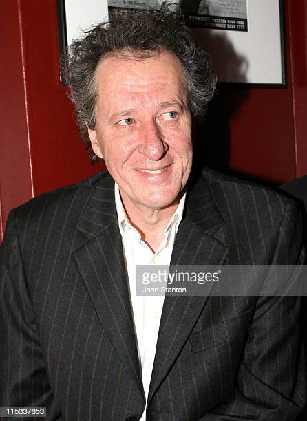 Geoffrey Rush during Opening Night of 'Exit The King' Starring Geoffrey Rush in Sydney on June 132007 at Belvoir St Theatre in Sydney NSW Australia