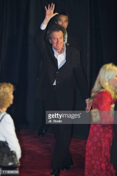 Geoffrey Rush during 'Pirates of the Caribbean At World's End' Asian Premiere in Tokyo at Nippon Budokan in Tokyo Japan