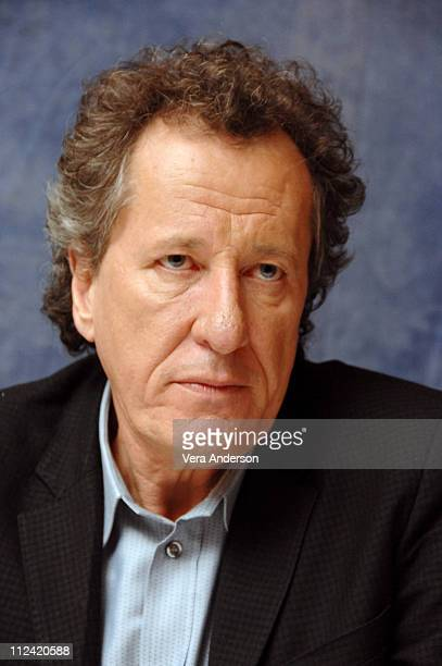 Geoffrey Rush during Pirates of the Caribbean At World's End Press Conference with Orlando Bloom Gore Verbinski Chow Yun Fat Geoffrey Rush Jerry...