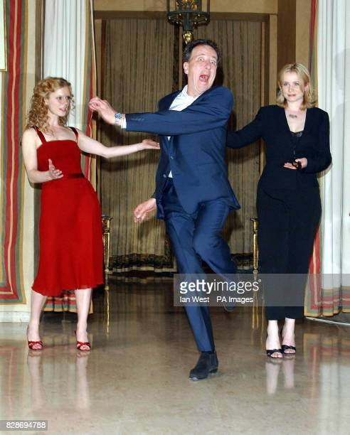 Geoffrey Rush who plays Peter Sellers in the new film 'The Life and Death of Peter Sellers' with Emilia Fox who plays his 4th wife Lynne Frederick...