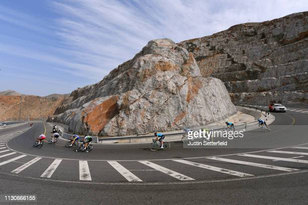 Geoffrey Soupe of France and Team Cofidis Solutions, Credits / Andre Greipel of Germany and Team Arkea - Samsic / Kenneth Van Rooy of Belgium and...
