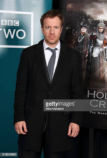 Geoffrey Streatfield arrives for the preview screening for 'The Hollow Crown: The Wars of the Roses: Henry VI' on March 29, 2016 in London, United...