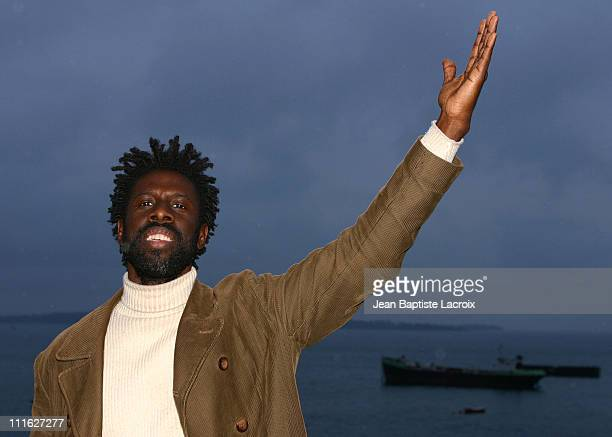 Geoffrey Williams during MIDEM 2003 The Free Association Photocall at Palais des Festivals in Cannes France