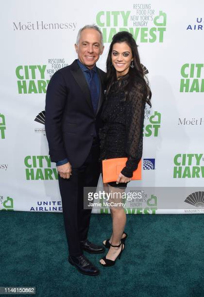 Geoffrey Zakarian and Margaret Anne Williams attends City Harvest The 2019 Gala on April 30 2019 at Cipriani 42nd Street in New York City