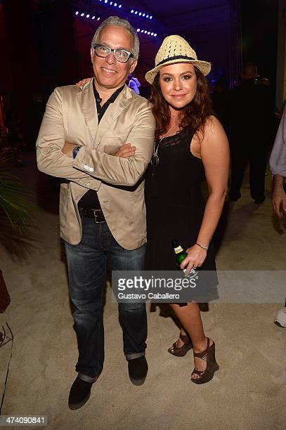 Geoffrey Zakarian and TV Personality Rachael Ray attend Amstel Light Burger Bash presented by Pat LaFrieda Meats hosted by Rachael Ray during the...