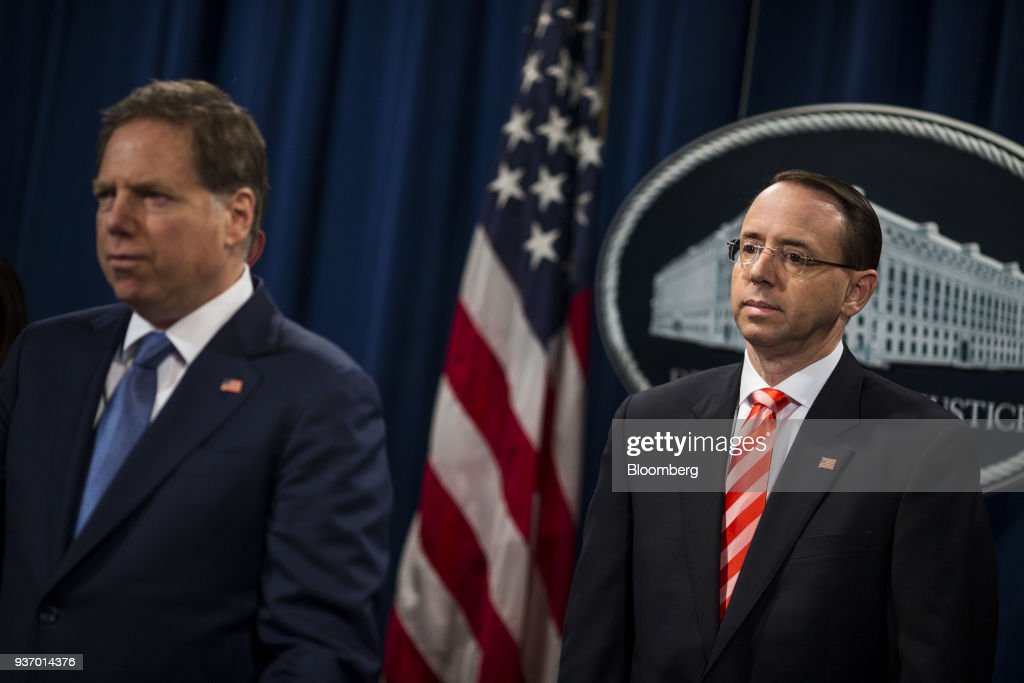 Geoffrey Berman, U S  attorney for the Southern District of
