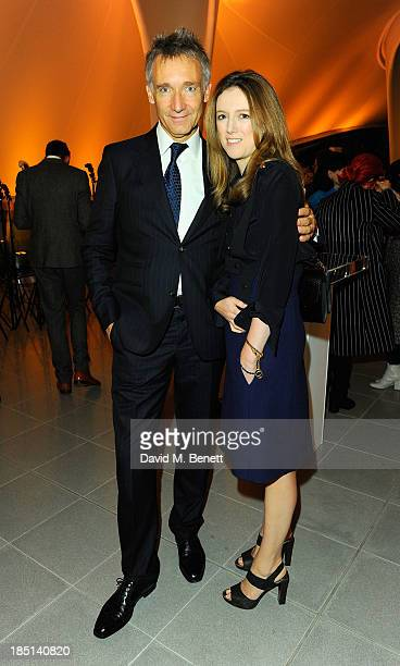 Geoffroy de la Bourdonnaye and Clare Waight Keller attend a cocktail party to Celebrate the Launch of the Book Chloe Attitudes hosted by Sarah Mower...