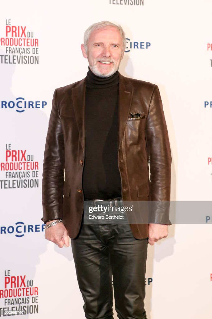 Geoffroy Thiebaut attends the 23rd Prix Du Producteur Francais De Television, at the Trianon, on March 13, 2017 in Paris, France.