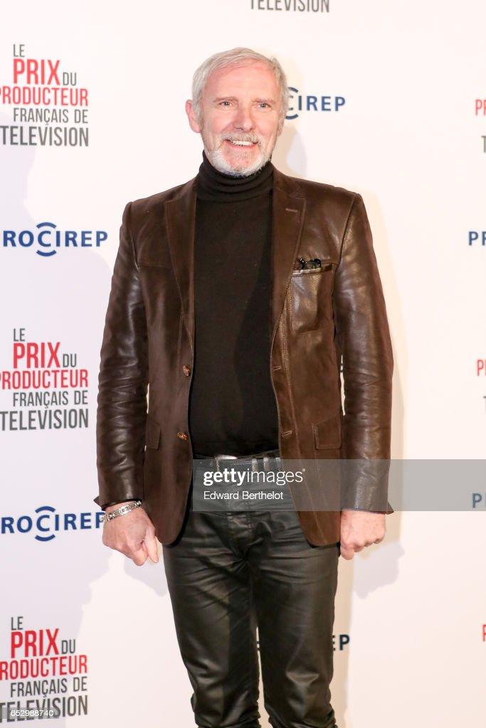 Geoffroy Thiebaut attends the 23rd Prix Du Producteur Francais De Television, at the Trianon, on March 13, 2017 in Paris, France.