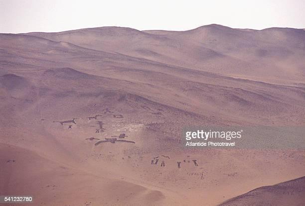 Geoglyphs on Hillside