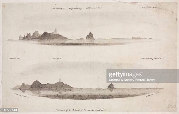 Geographical features including Rat Island off the coast of Uruguay and St Michael�s Mount in the islands of Fernando de Noronha off the northeast...