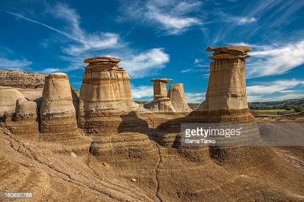 geological formations - rock hoodoo stock pictures, royalty-free photos & images