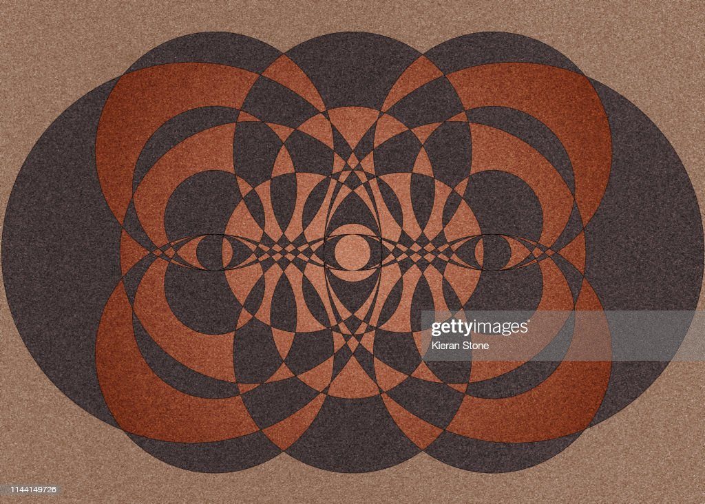 Geometric Background Design : Stock Photo