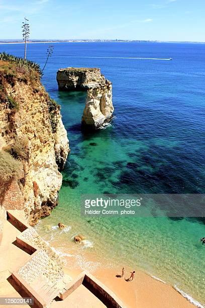 Geometric beach in Lagos, Algarve