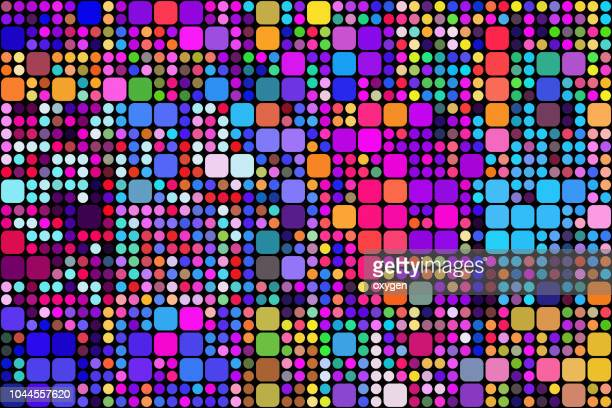 geometric colors background - spotted stock pictures, royalty-free photos & images