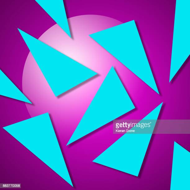 Geometric Retro Background