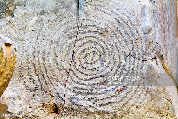 Geometric Rock Carving