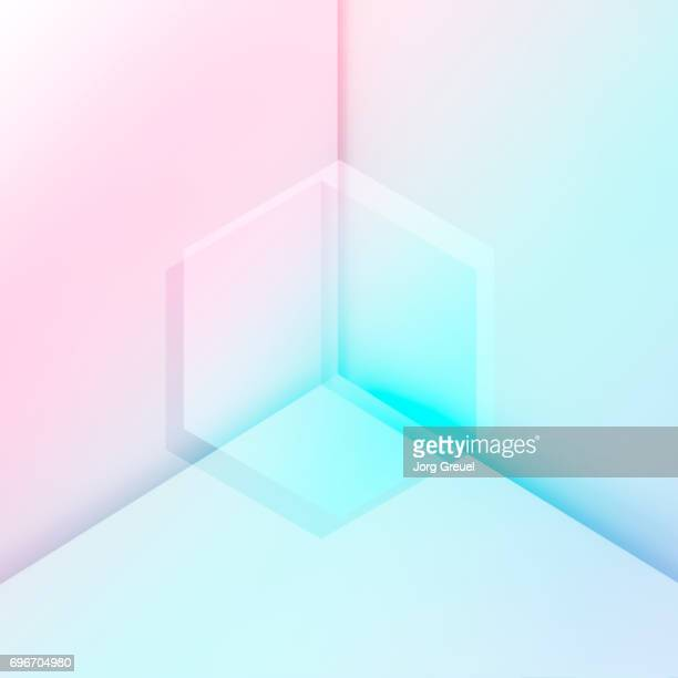 Geometric transparent shapes