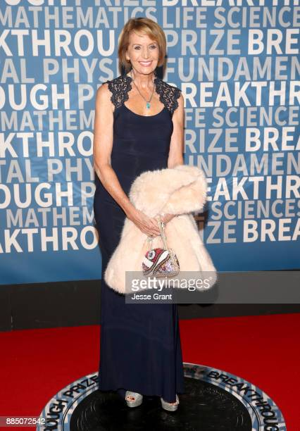 Geophysicist Marcia McNutt attends the 2018 Breakthrough Prize at NASA Ames Research Center on December 3 2017 in Mountain View California
