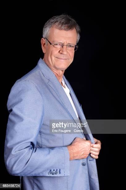 Geopolitics Pascal Boniface poses during a portrait session in Paris France on