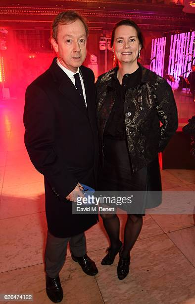 Geordie Greig and Kathryn Greig attend the Fayre of St James's hosted by Quintessentially Foundation and the Crown Estate in aid of Cheryl's Trust in...